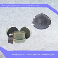 Máscaras de pó de 3m ativado máscara de filtro de carbono máscara de filtro de carbono