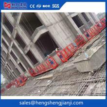 Plataforma de trabajo suspendida Zlp630 para construcción de edificios de gran altura