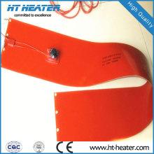Aquecedor de placa de borracha de silicone 220V