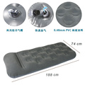 single inflatable mattress with pillow