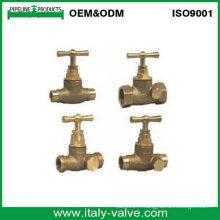 """Vanne d'arrêt de forgeage en laiton """"Italie Copper"""" / Globe Valve (AV4070)"""