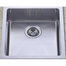 Handmade Stainless Steel Kitchen Sink (KHS1518)