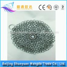 Food grade Large Circular Wire Metal Pot Cleaner