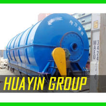 High Final Oil Price Used Tire Plastic Engine Oil Refining Plant To Diesel With Catalyst Low Cost