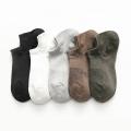 Elastic cotton breathable short men's socks