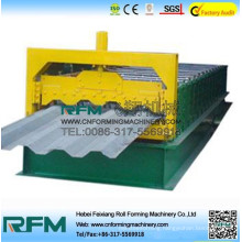 FX truck bearing board roll forming machine