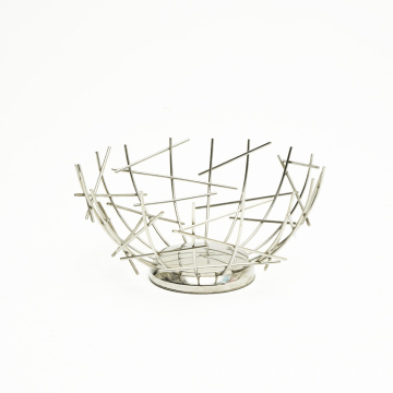 Modern Iron Creative Fruit Bowl Fruit Basket Living Room Tea Table Nordic Style Snack Bowl Fruit Bowl