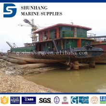 ship launching and ship lifting floating pontoon marine rubber airbag