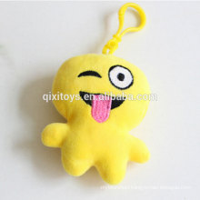 Hot sell emoji items personalised custom keyring good quality promotion gift keyring factory direct