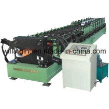 Máquina de tubería Trapezoidal Hoja de cubierta Hoja que forma la máquina