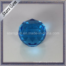 Facets Cut Round Christmas Decoration Glass Ball