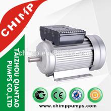 YL100L1-4 motor de ventilador eléctrico de inducción de 220 voltios CA