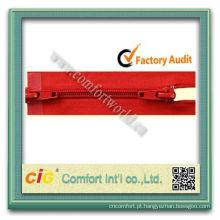 5# nylon Zipper de Metal plástico C/E A / L