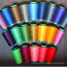 40s / 2 100% gesponnenes Polyester-Nähgarn