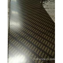 Pegamento de WBP de la base del álamo de la madera contrachapada impermeable Brown Film