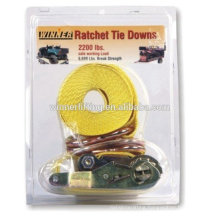 us type portable clamshell ratchet straps sets