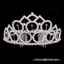 Páginaant tiara e coroa atacado