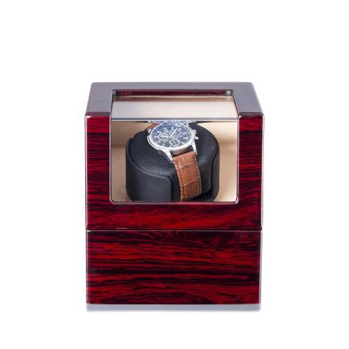 Single Watch Winder Rosenholz