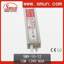 10W 12V impermeable IP67 LED Driver utilizado para LED Strip