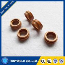 Consumíveis de plasma peças sobressalentes Trafimet A141 anel de redemoinho PE0101