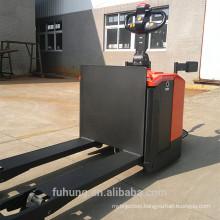 Ce certificate 3Ton walker platform Rider on powered Electric Pallet jack Truck with Platform ELEP-30D