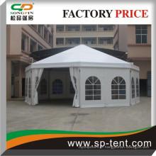 Promotionnel Outdoor Aluminium Decagonal Circus Party Tents Diamètre 10m