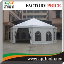 Promotional Outdoor Aluminum Decagonal Circus Party Tents Diameter 10m