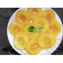 Pêssego enlatado de pêssego/amarelo em Havles/fatias