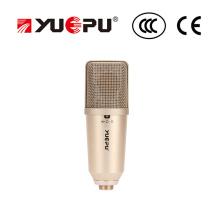 Micrófono de grabación, micrófono de condensador para un rendimiento profesional