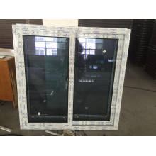 New Vinyl UPVC Sliding Window with Reflected Glass
