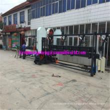 CNC Automático Twin Vertical Sierra de Alta Frecuencia de Madera Band Sawmill