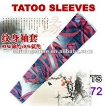 2016 best sell rose tattoo arm sleeve