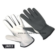 Promotional Leather Mechanics Working Construction Safe Hand Glove