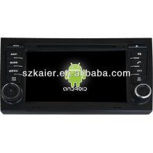 Reproductor de DVD del coche Android System para Audi A4 con GPS, Bluetooth, 3G, iPod, juegos, zona dual, control del volante