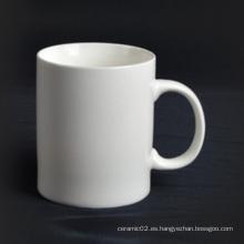 Super taza de porcelana blanca con mango - 14CD24361