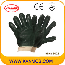 Black Anti-Slipping Industrial Safety PVC Dipped Work Gloves (51203SP)
