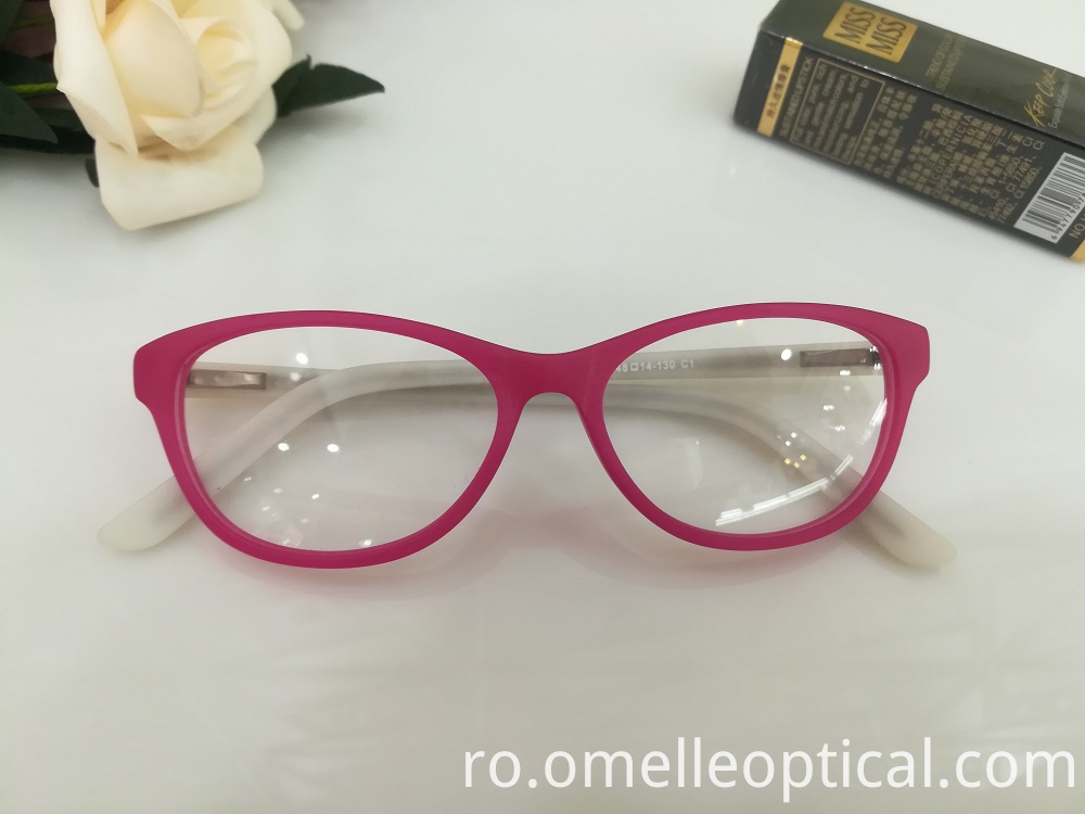 Oval Cat Eye Glasses