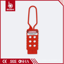 High Quality PP Non-conductive Plastic Safety Nylon Lockout Hasp BD-K42 ,boshi brand with CE ROHS OSHA certification