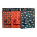 PEVA Tablecloth, PEVA Table Cloth, PEVA Table Cover, Vinyl Table Cover