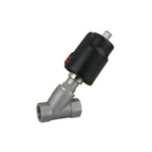 Vanne de siège d'angle pneumatique sanitaire (IFEC-SV100015)