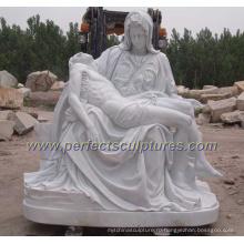 Сад резьба по камню Мраморная скульптура Религиозная статуя для религии (SY-X1212)