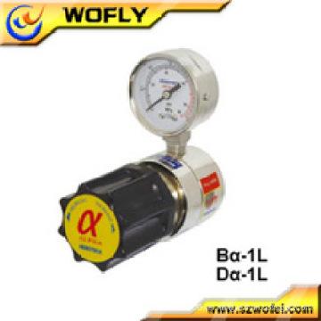 Regulador de presión de argón de acero inoxidable