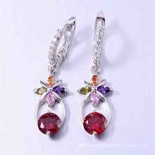Earring with colorful stone earring accessories jewelry from dubai
