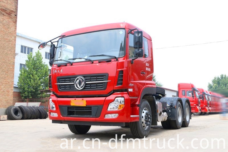 Dongfeng Commercial Vehicle Kl Heavy Duty Truck 450 Hp 6x4 Fast Gear Tractor Truck