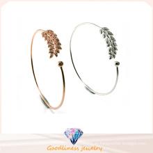 Brazalete de la pulsera para las mujeres de la moda de las mujeres de aleación de mano amante de la pulsera de la boda brazalete de brazalete