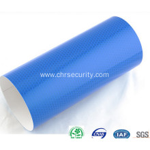 Blue high intensity reflective sheeting