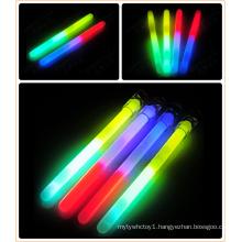6′′ Bi-Color Glow Stick with Ribbon (DBT10150-2)