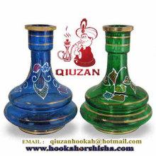 Modische große Größen Multicolor Shisha Flasche