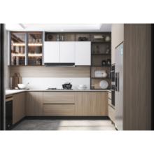 Contemporary Wood Kitchen Cabinets Furniture Design