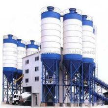 A venda quente HZS240 full-automatic pronto misturou a planta de mistura do cimento do solo no estoque